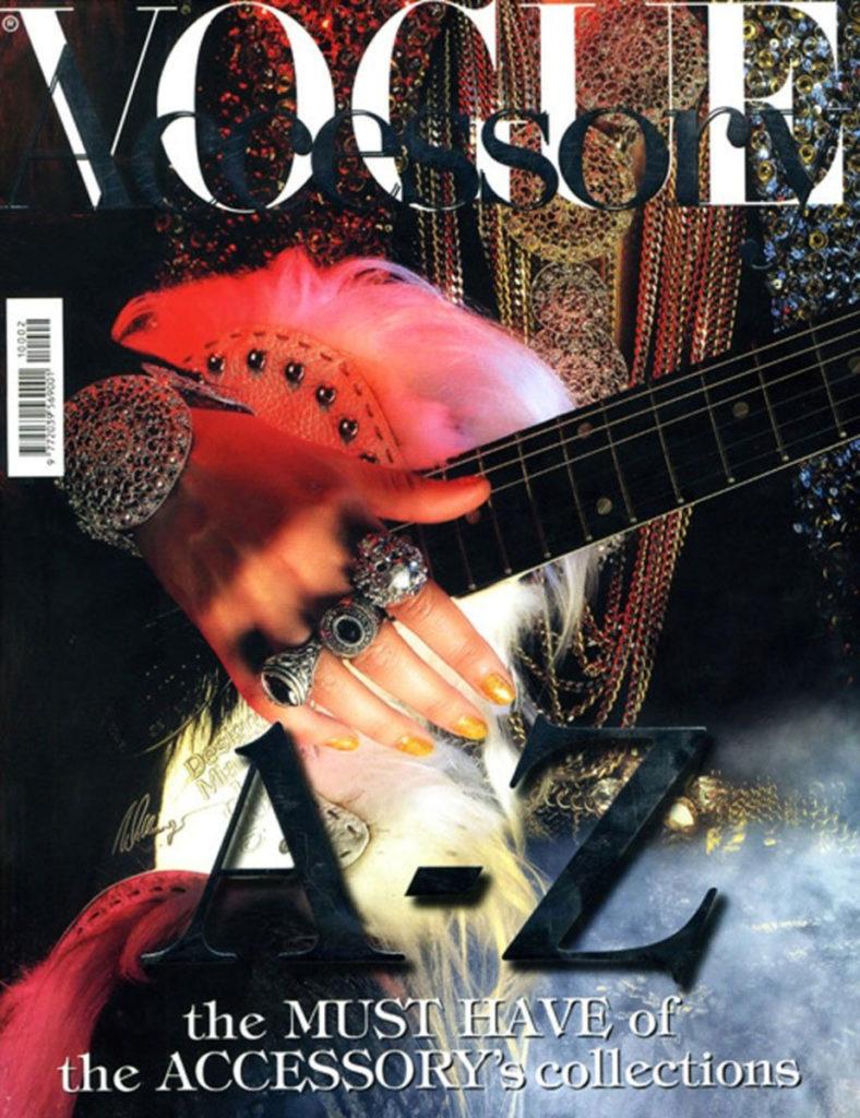 Vogue Italia manicure Annie Ghizzoni cover