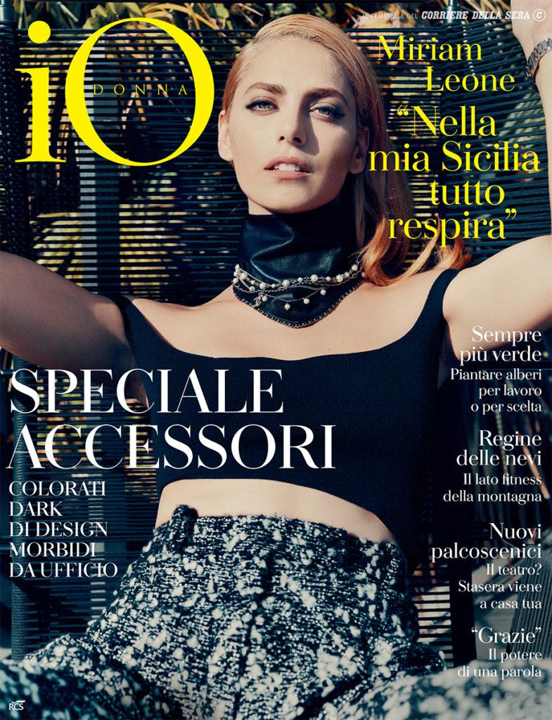 Io Donna make-up Roman Gasser Miriam Leone