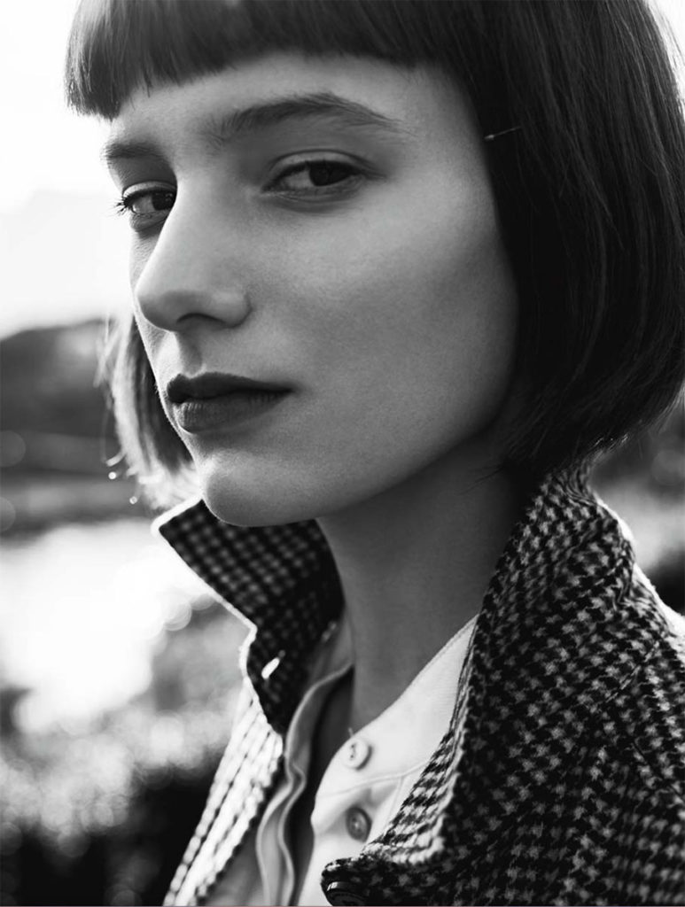 Io donna photographer Magnus Reed make-up Roman Gasser