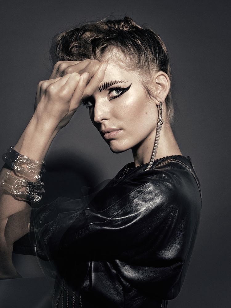 Glamour photographer Baard Lunde make-up Roman Gasser
