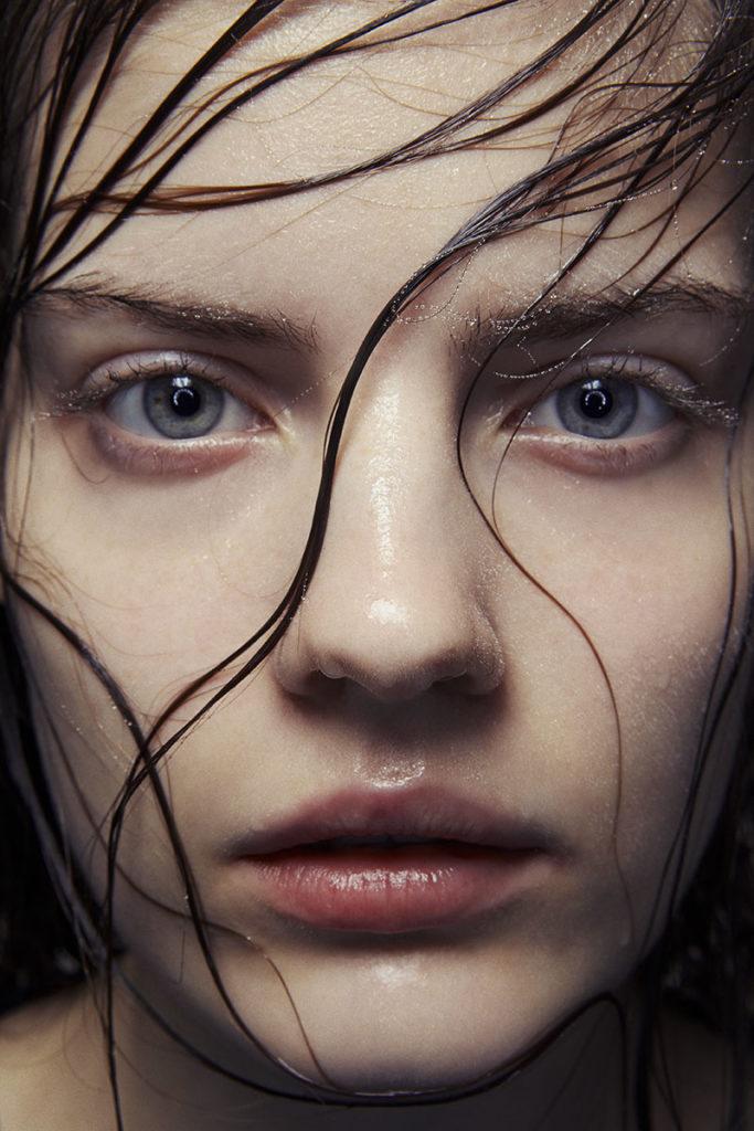 Beauty photographer Stefan Giftthaler make-up Giovanni Iovine