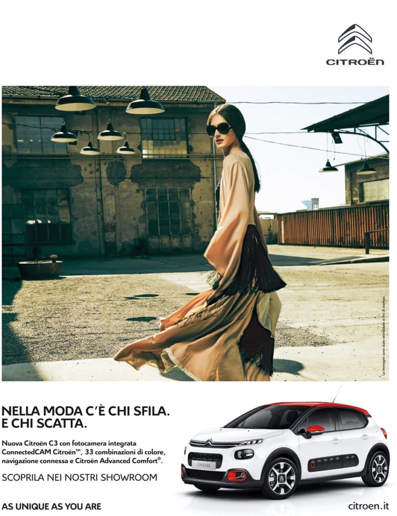 Citroen make-up Silvana Belli