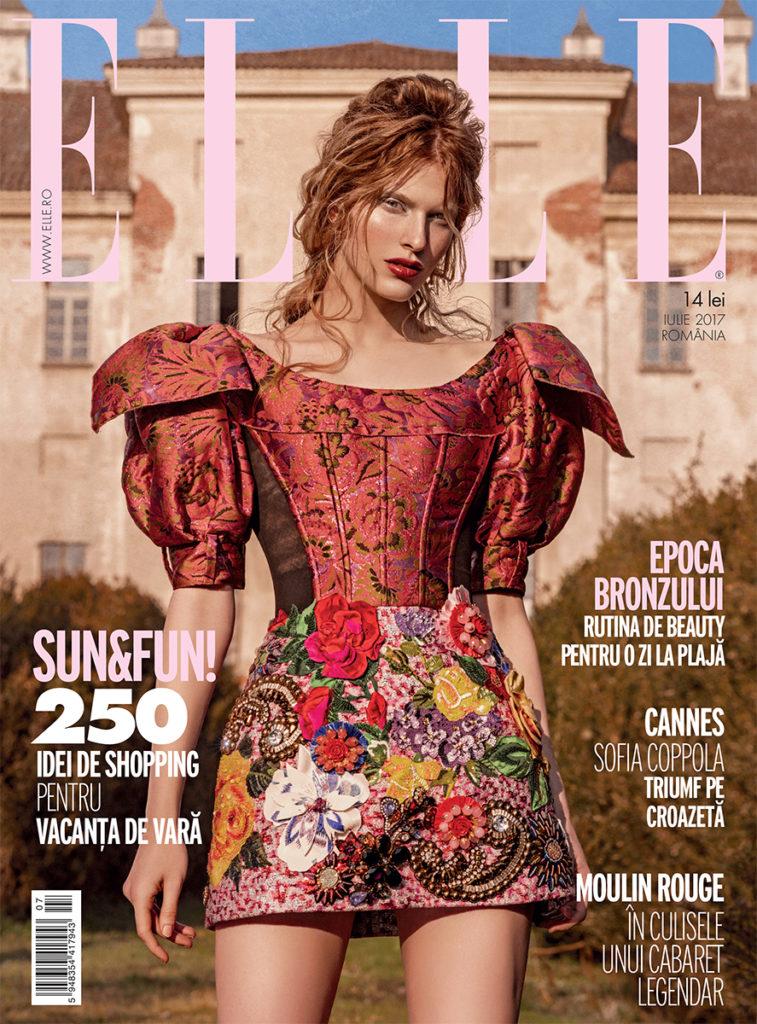 Elle Romania make-up Roman Gasser
