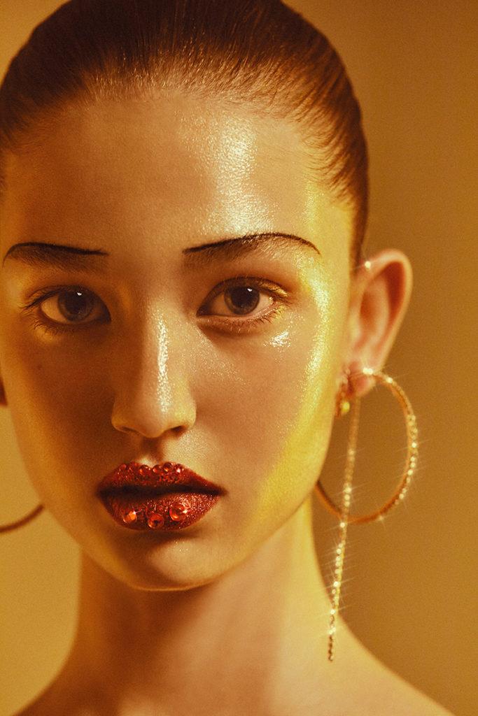 Glamour photographer Byron Mollinedo make-up Roman Gasser