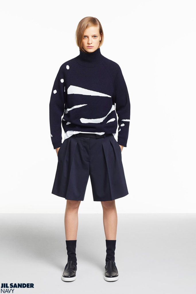 Jil Sander Navy make-up Silvana Belli