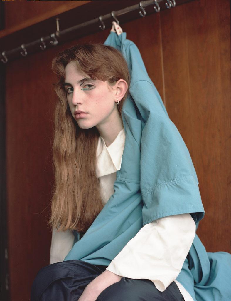 Off black magazine photographer Luca Grottoli make-up Roman Gasser