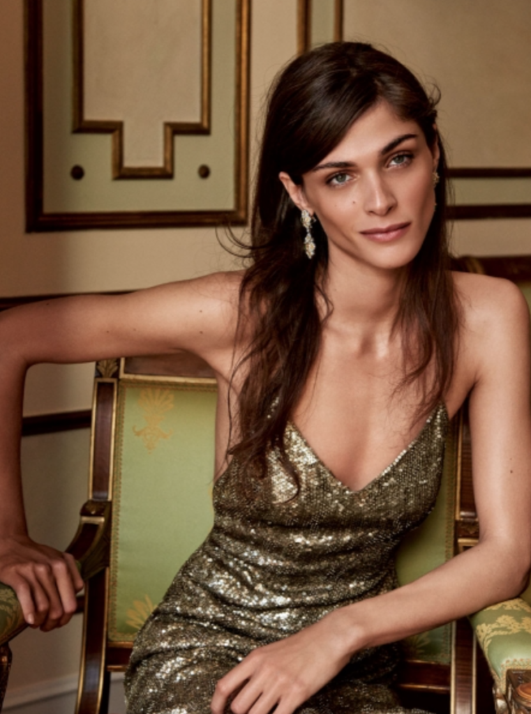 Vanity fair make-up Sissy Belloglio Elisa Sednaoui