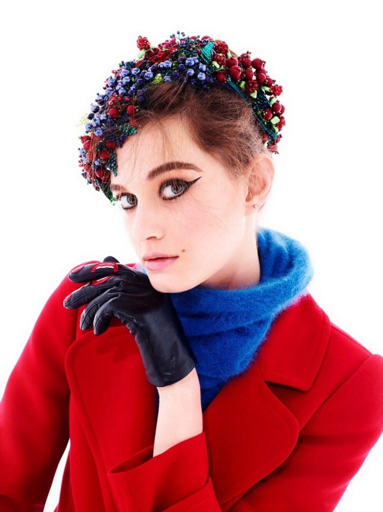 Vanity fair italia photographer Stewart Shining make-up Sissy Belloglio