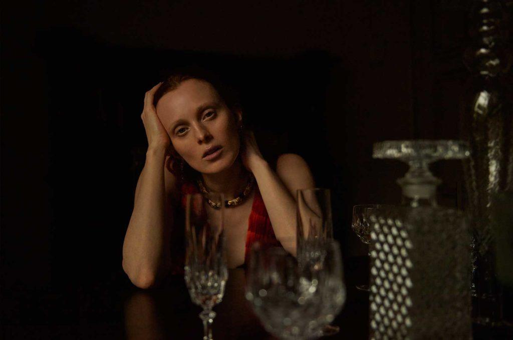 Vogue Ukraine photographer Patrick Bienert make-up Silvana Belli Karen Elson