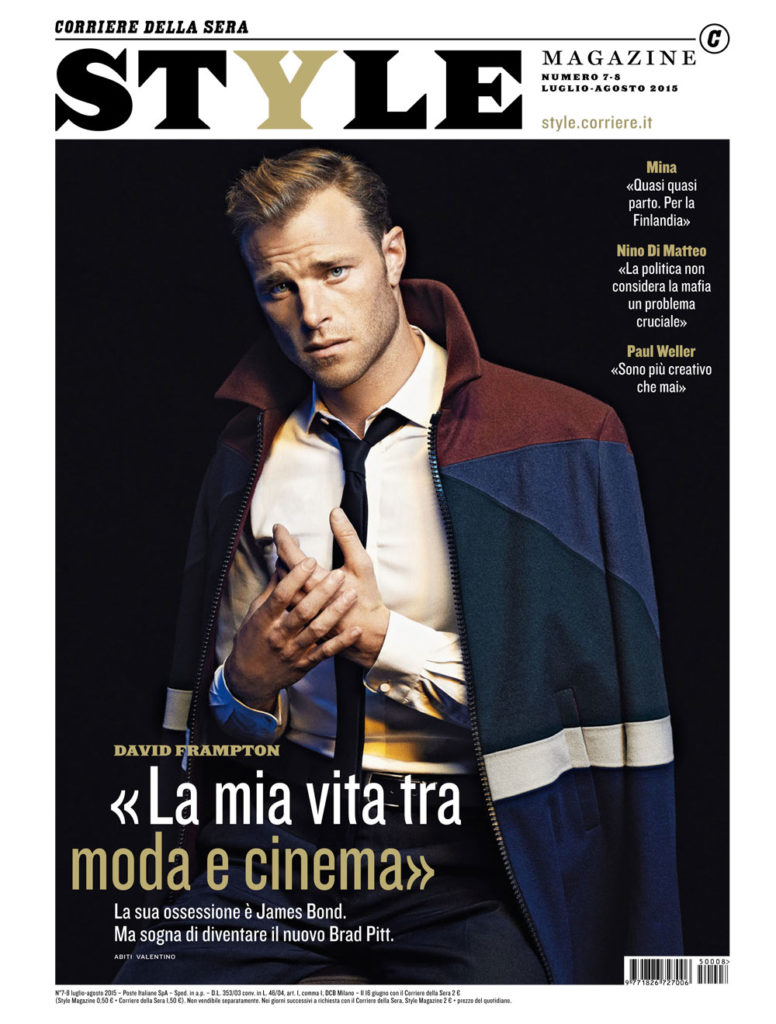 Style magazine Italia make-up Roma Gasser David Frampton