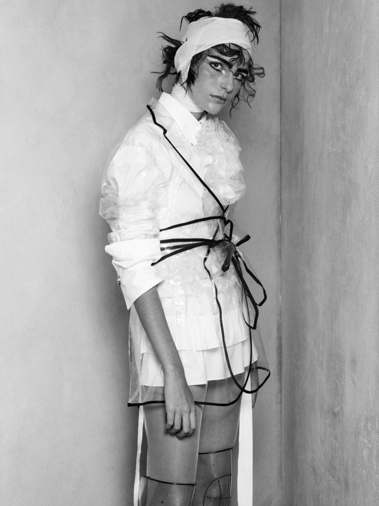 Drew editorial photographer Daniele Rossi make-up Sissy Belloglio