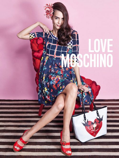 Love Moschino make-up Giovanni Iovine