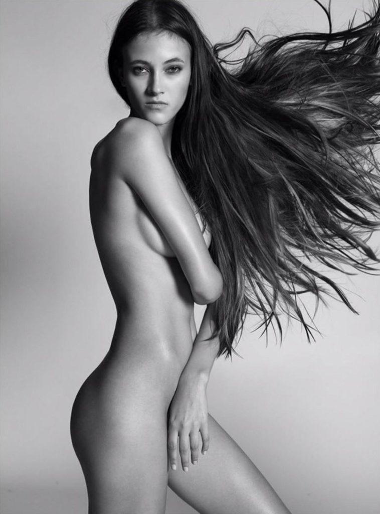 Greta Varlese Photo by Saverio Cardia  Hair Daniel Manzini