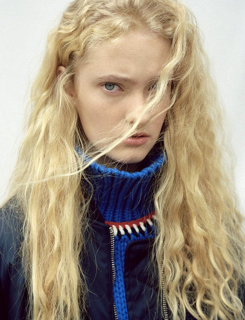 Amica - photographer Letizia Ragno - make up artist Augusto Picerni
