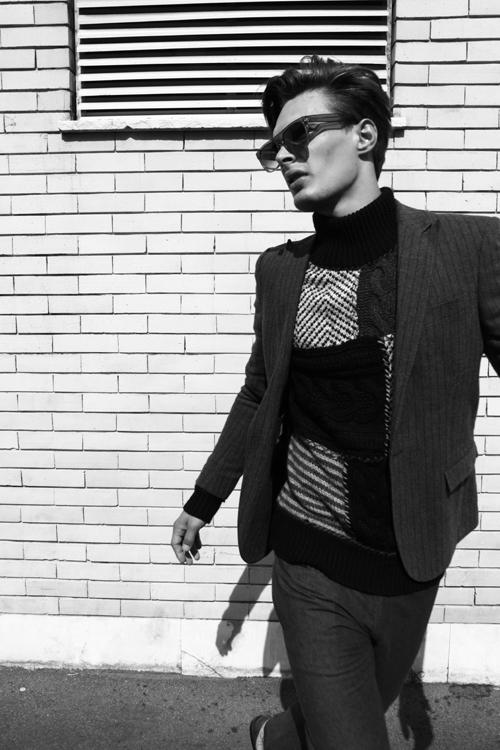 New order  - Photographer Roberto Covi - make up Karin Borromeo