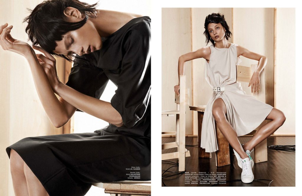 Interview Germany - Photographer Giampaolo Sgura - Hair stylist Davide Diodovich - Stylist Klaus Stockhausen