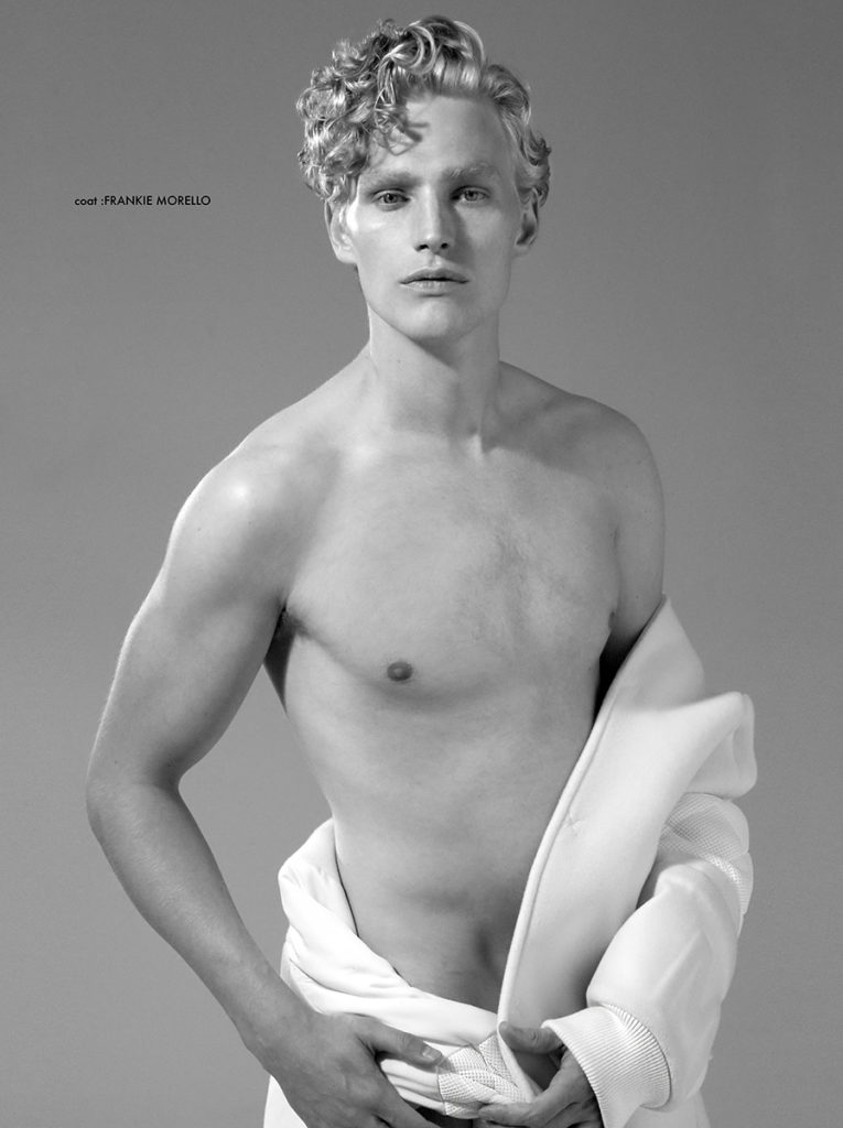 Men portrait - photographer Marco Marezza - hair stylist Stefano Gatti