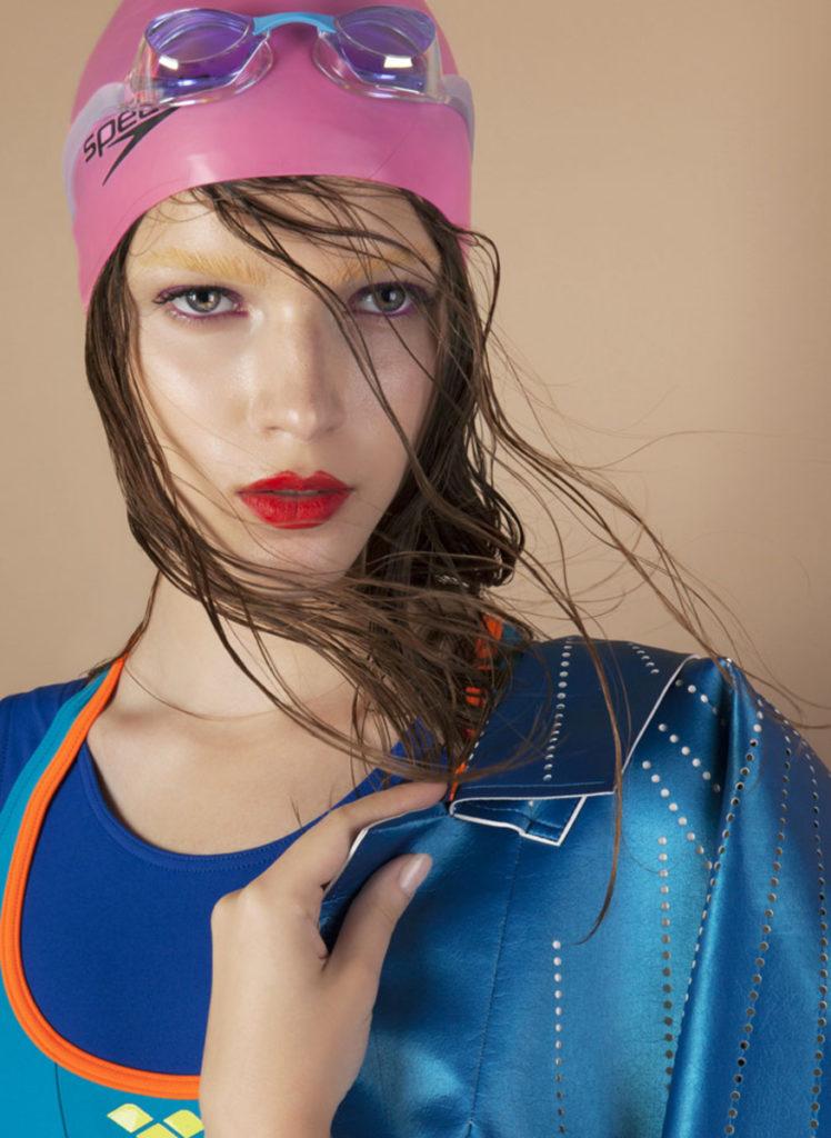 Marie Claire China - Photographer Oskar Cecere - make up artist Augusto Picerni