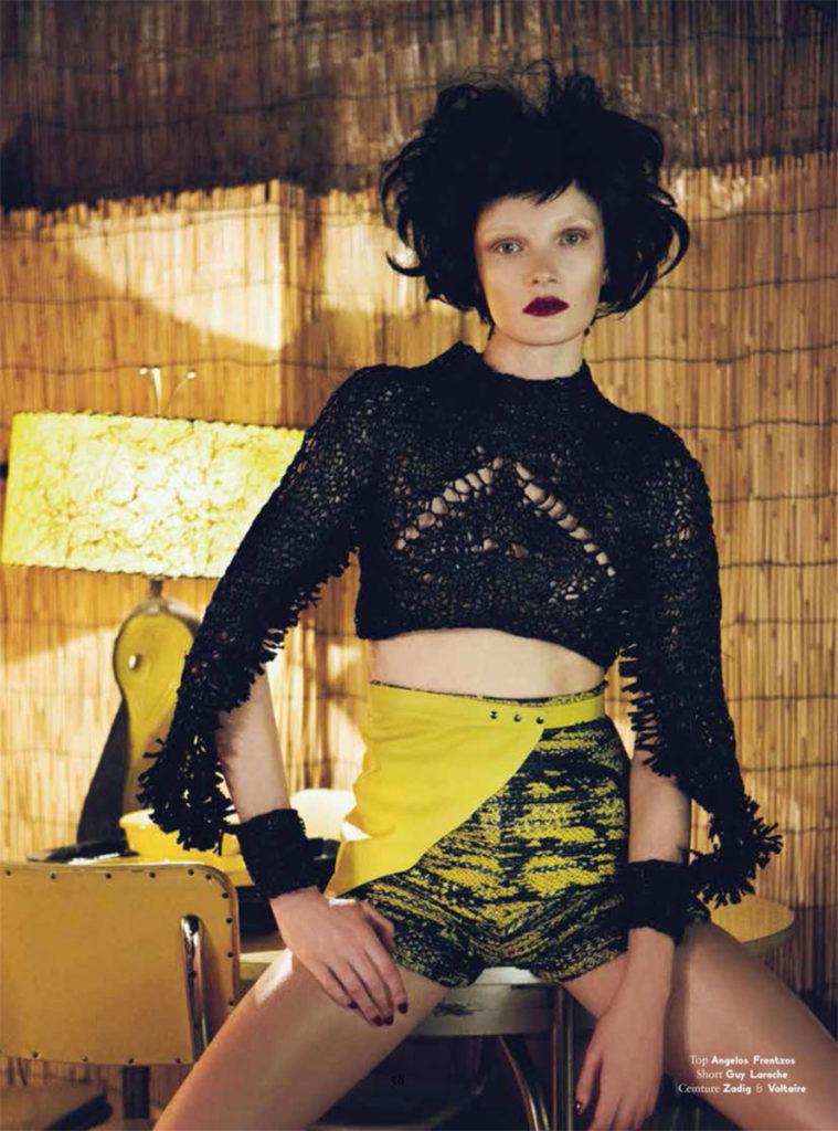 Edelweiss - Photographer Stefan Giftthaler - hair stylist Luca Lazzaro