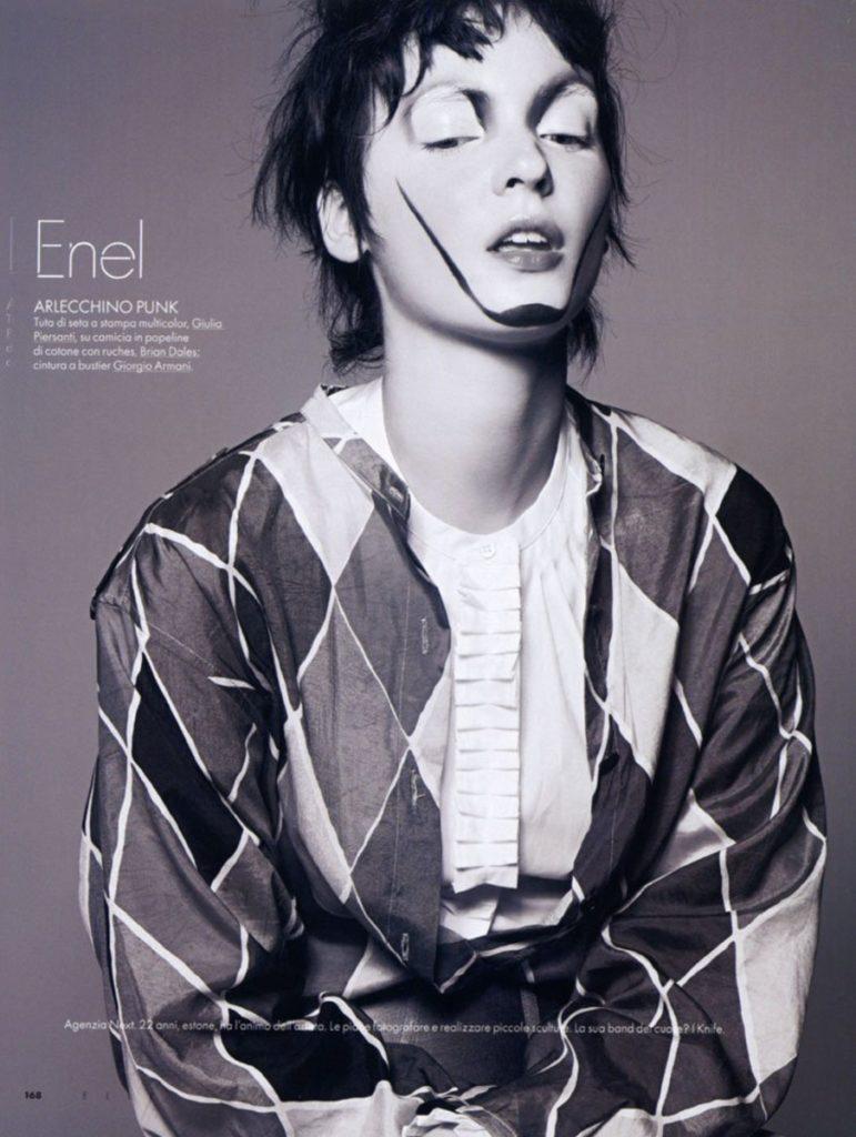 Elle Italia - magazine - Photographer Peter Gerhke - make up artist Augusto Picerni