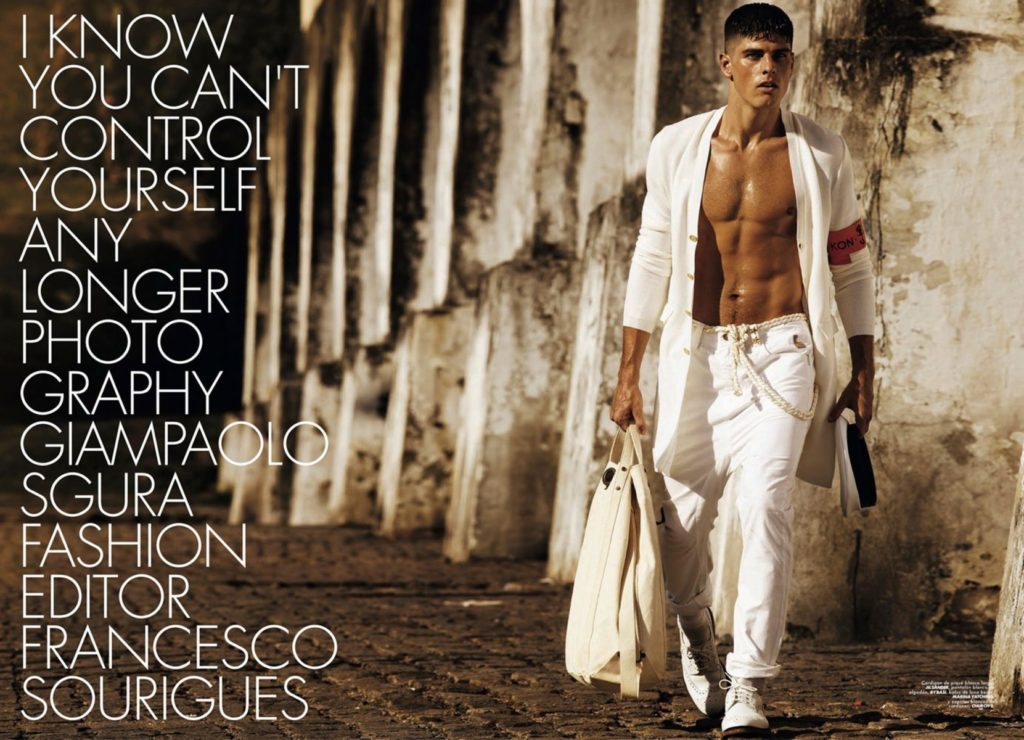 Hercules - magazine - Photographer Giampaolo Sgura - Hair stylist Davide Diodovich