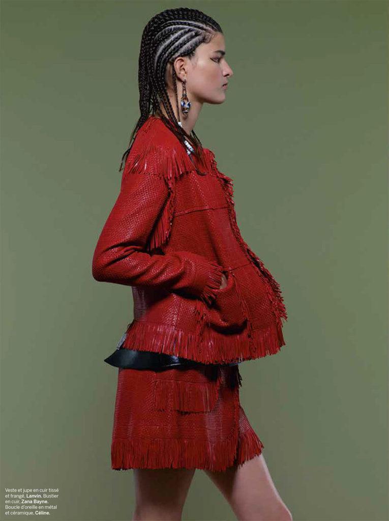 Stylist France - photographer Patrick Jackson - Hair stylist Federico Ghezzi