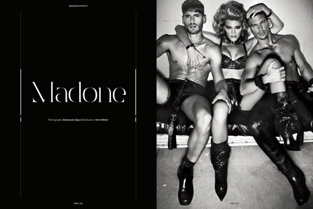 Antidote - Photographer Giampaolo Sgura - Hair stylist Davide Diodovich
