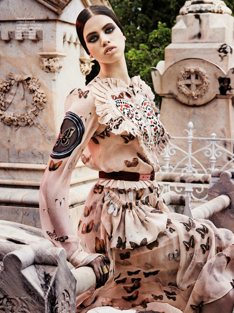 Vamp Magazine - Photographer Giampaolo Sgura - Hair stylist Davide Diodovich