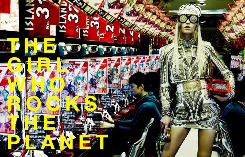 Vogue Japan - Photographer Giampaolo Sgura - Hair Davide Diodovich - Stylist Anna Dello Russo