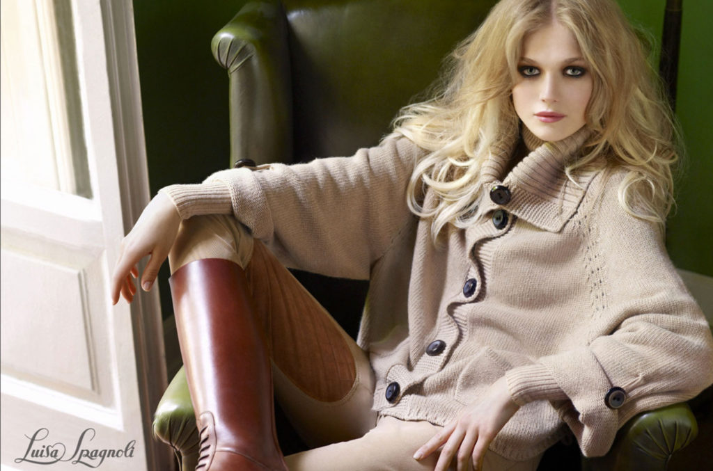 Luisa Spagnoli - hair stylist Stefano Gatti