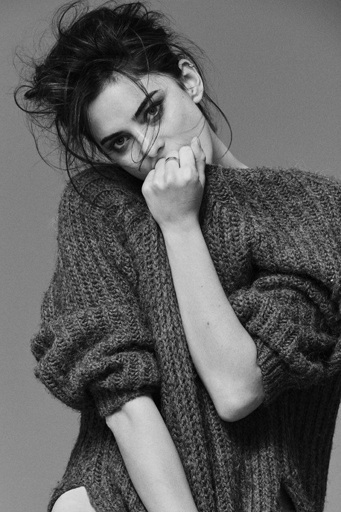 Alejandra - photographer Fabio Leidi - hair stylist Luca Lazzaro