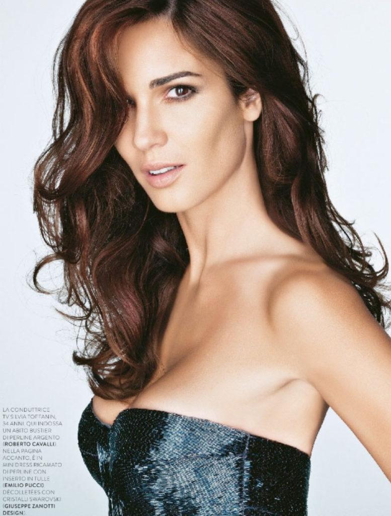 Silvia Toffanin - Grazia Italia - cover - Photographer Roberto D'Este - Hair Stylist Luca Lazzaro