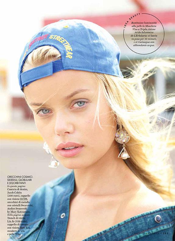 Elle Italia - magazine - Photographer David Mushegain - Stylist Eva Geraldine Fontanelli - make up artist Augusto Picerni