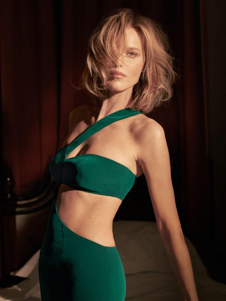 Eva Herzigova - Monot - photographer Greg Swales - Hair Davide Diodovich - make up Karin Borromeo