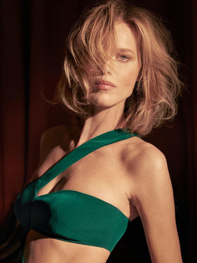 Eva Herzigova - Monot - photographer Greg Swales - make up Karin Borromeo - Hair Davide Diodovich