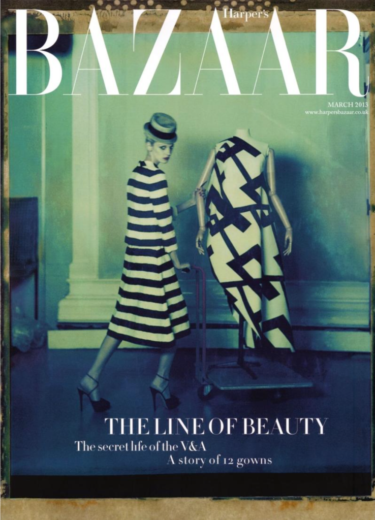 Harper's Bazaar UK - cover  - hair stylist Federico Ghezzi