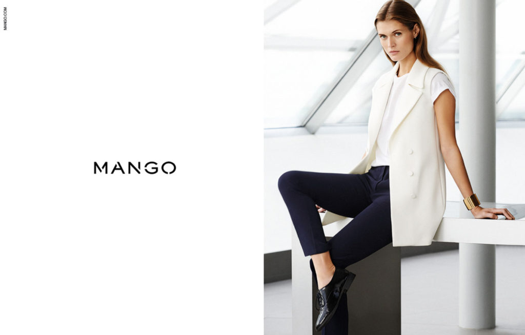 Mango Classic - Photographer Giampaolo Sgura - Hair Davide Diodovich - ss2014