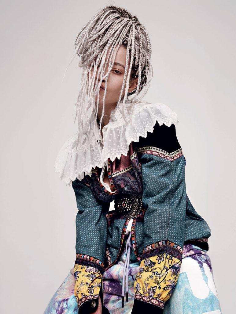 Hindaco - Marie Claire magazine - Photographer Mattia Guolo - Make Up artists Giovanni Iovine