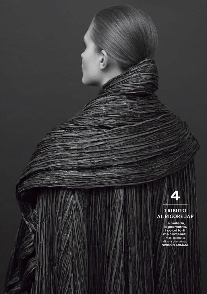 Vanity Fair Italia - Photo Adrian Mesko - Stylist Lorenzo Posocco - Hair stylist Stefano Gatti - Make Up artist Sissy Belloglio - WM artists Management