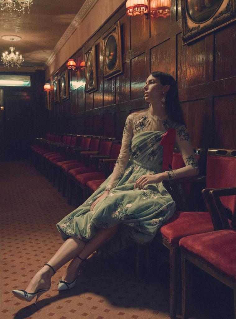 Harper's Bazaar UK - photographer Regan Cameron - Hair stylist Federico Ghezzi