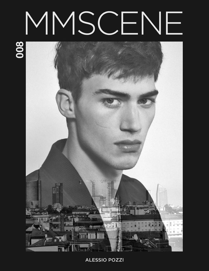 MMScene - magazine - Photographer  Marco Marezza - Stylist Giorgio Ammirabile - Hair stylist Stefano Gatti - model Alessio Pozzi