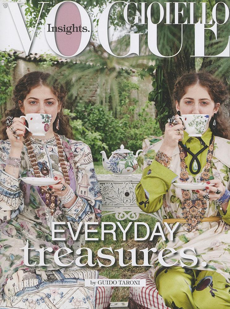 Vogue Gioiello - photographer Guido Taroni - hair stylist Federico Ghezzi