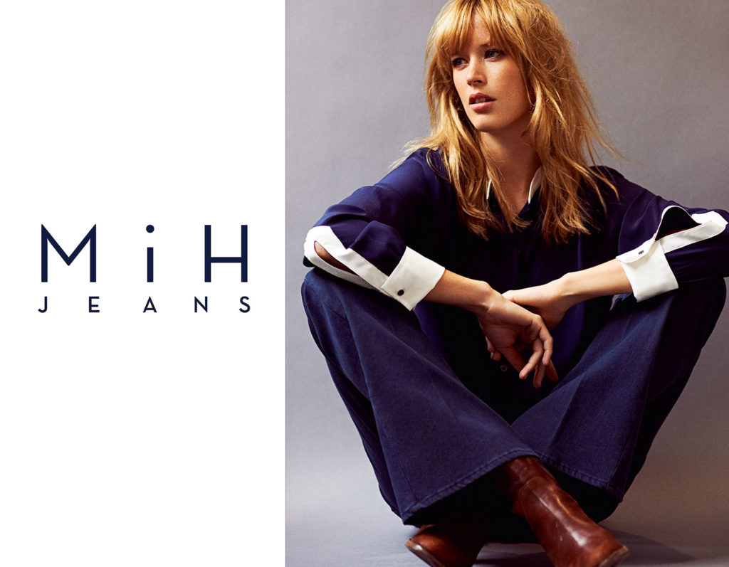 Mih Jeans - advertising -  Hair stylist Federico Ghezzi