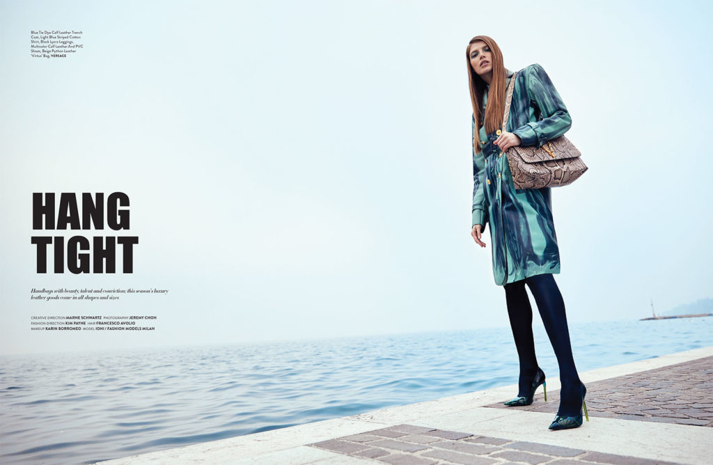 Grazia Italia - Photo by Jeremy Choc - hair Francesco Avolio Make Up Karin Borromeo lago di garda