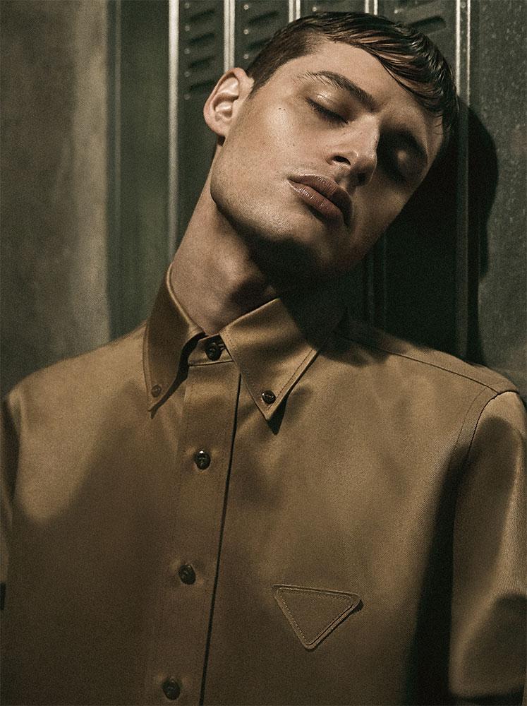 Icon - Photographer Steven Popovich hair Stefano Gatti Makeup Sissy Belloglio