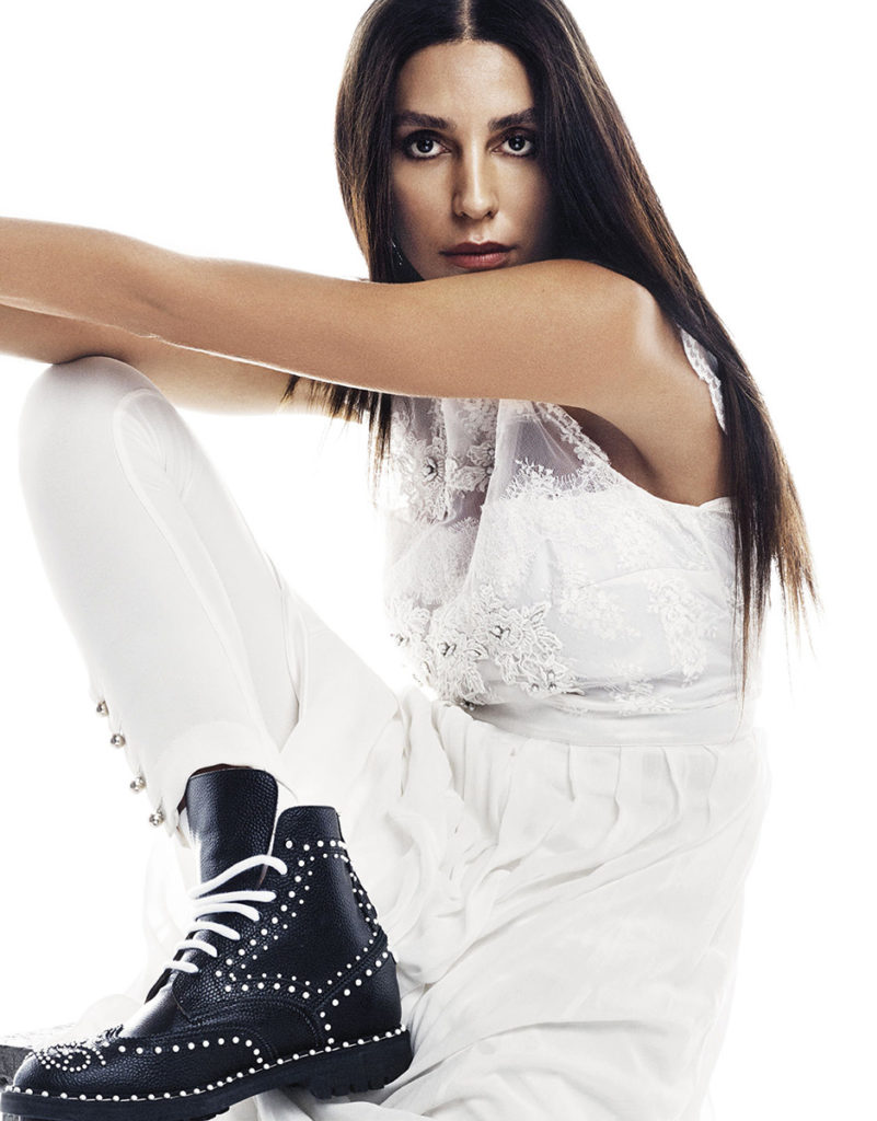 Lea T- Grazia France - cover - Photographer Van Mossevelden + N - Stylist Donatella Musco - Hair Stylist Luca Lazzaro