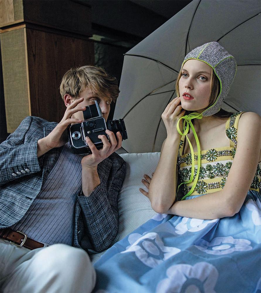 Style Magazine - photographer Leonardo Bechini - Stylist Giovanni Deruvo - Make Up Augusto Picerni - Hair Liv Holst