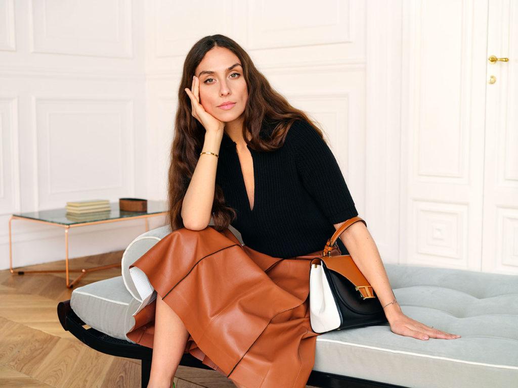 Tod's - Erika Boldrin - Wardrobe project - photographer Johan Sandberg - Make Up Riccardo Morandin