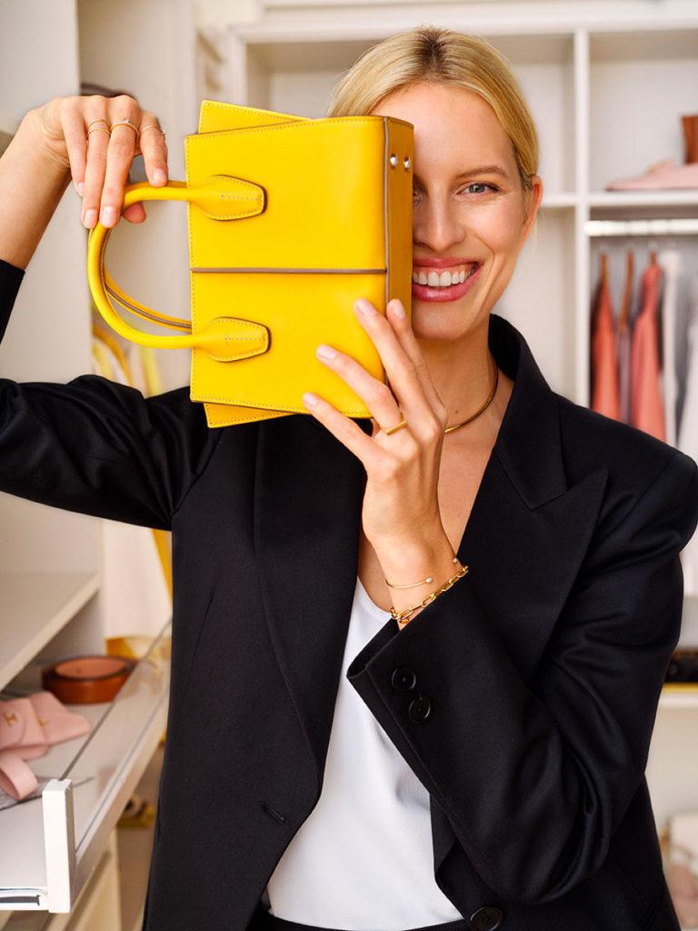 Tod's - Karolina Kurkova - Wardrobe project - photographer Johan Sandberg - Make Up Riccardo Morandin