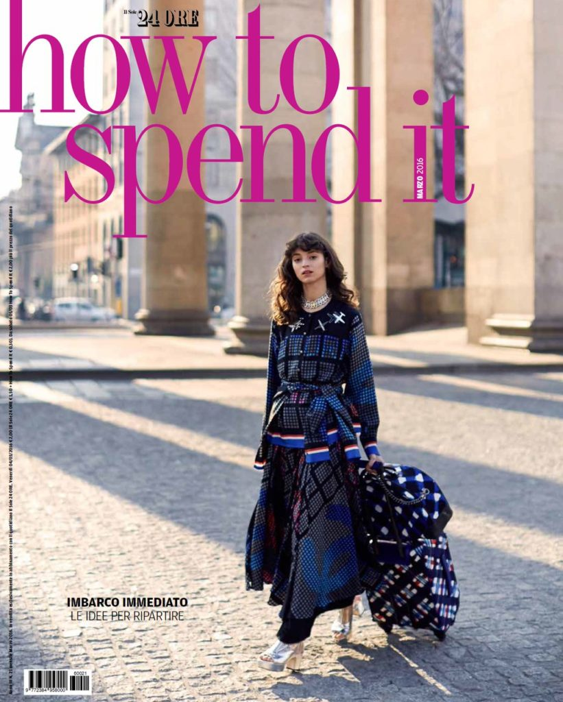 How to spend it - magazine - cover - Hair stylist Stefano Gatti